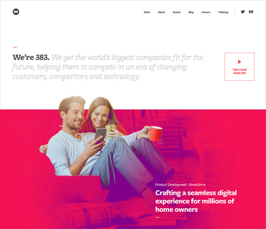 383 Project digital and web design agency