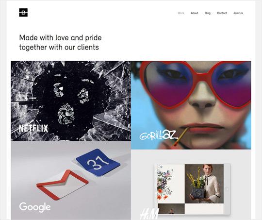 9ff3de5ad1e7 List of 50 of the top award winning Digital and web design agencies ...