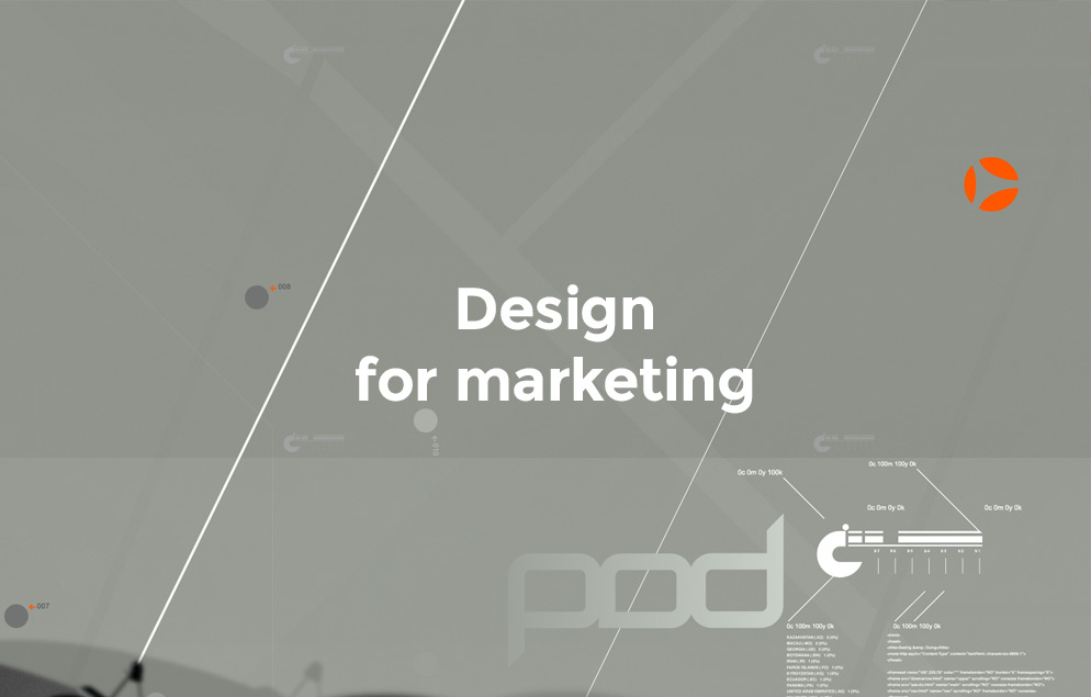 Design for Marketing Services