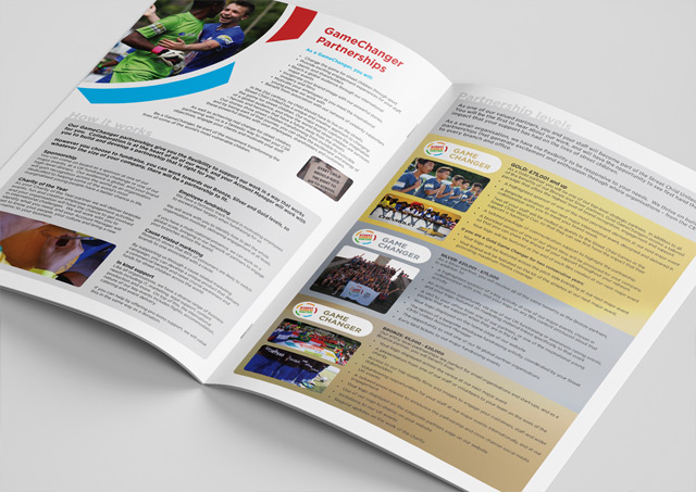 Fundraising brochure design 11
