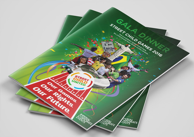 Fundraising brochure design 1