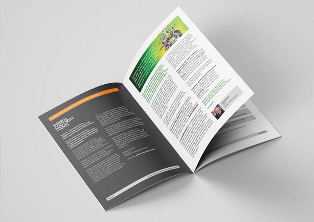 Fundraising brochure design 2