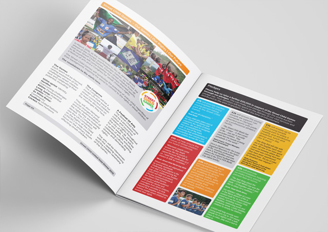 Fundraising brochure design 4