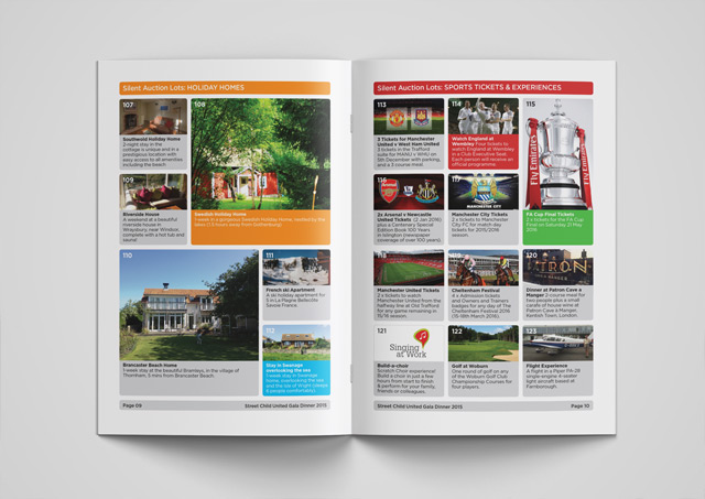 Fundraising brochure design 6