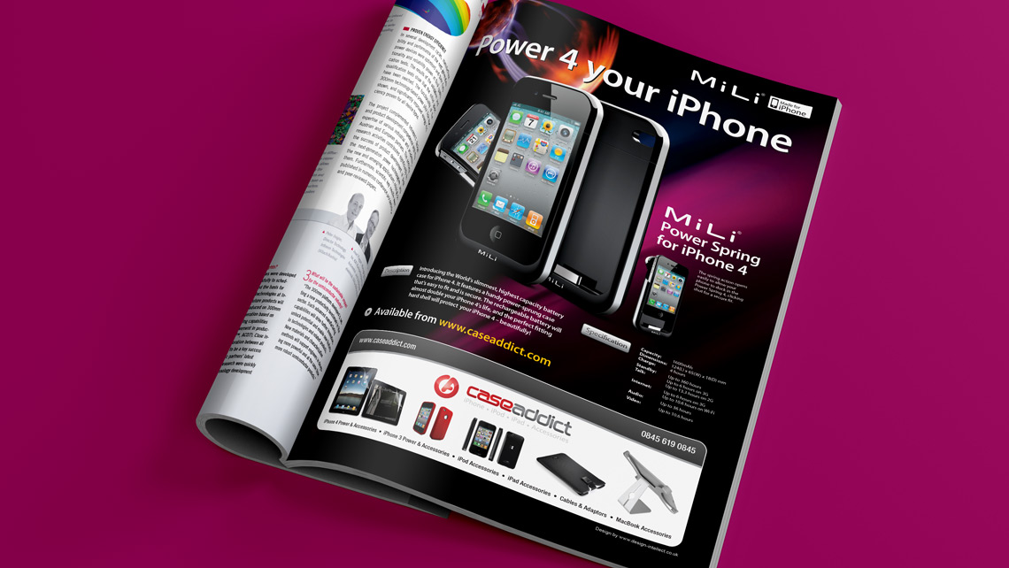 Mobile Phone advertising design