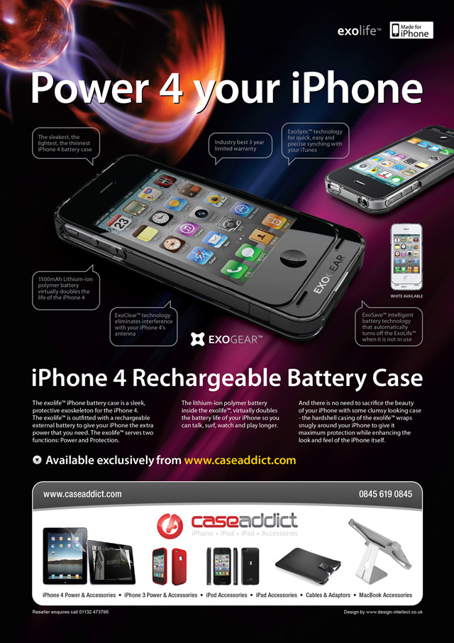 Mobile Phone advertising design 3
