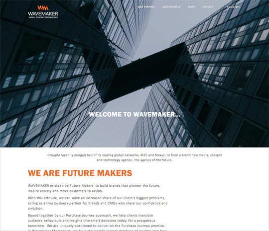Wavemaker Advertising and Marketing Agency