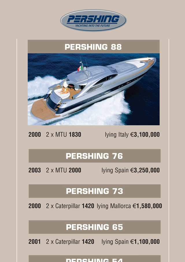 Yacht advertising design 3